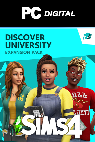 The Sims 4: Discover University DLC PC