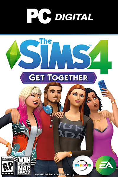 The Sims 4: Get Together DLC PC