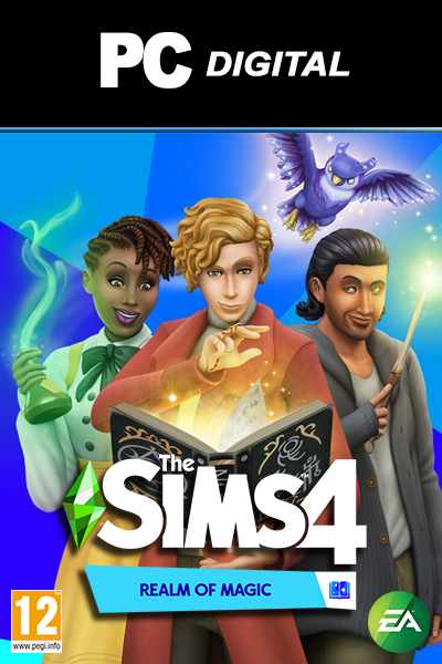 The Sims 4: Realm of Magic DLC PC