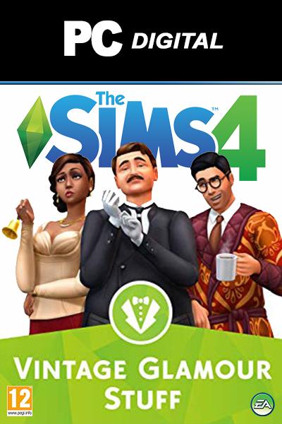 The Sims 4: Vintage Glamour Stuff DLC PC
