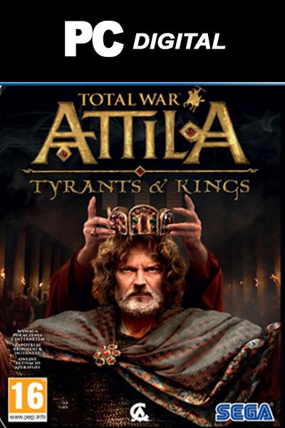Total War: ATTILA - Tyrants & Kings Edition PC