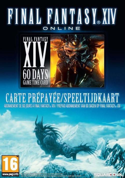 Goedkoopste Final Fantasy XIV 60 Day Prepaid (Digitale Codes) in