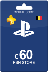 Playstation Network Card 60 Euro BE