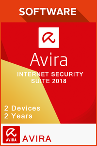 Avira Internet Security Suite 2018 2 Years - 2 Devices