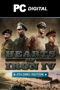 Hearts of Iron IV: Colonel Edition Upgrade Pack DLC PC