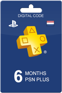 PlayStation Plus 180 dagen NL