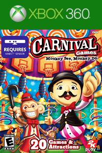 Carnaval games Monkey see monkey do