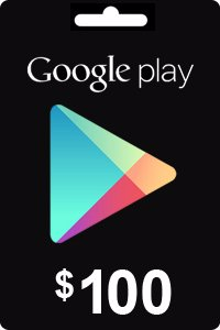 Google Play Gift Card 100 USD