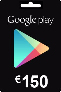 Google Play Gift Card 150 EURO