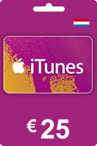 iTunes Gift Card 25 EUR NL
