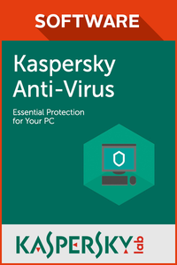 Kaspersky Anti-Virus 2017 5PC 2 jaar