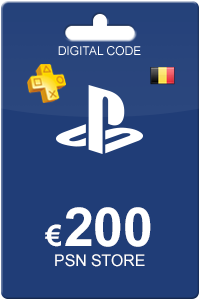 Playstation Network Card 200 euro BE