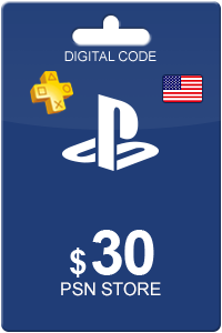 Playstation Network Card 30 USD