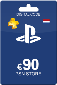 Playstation Network Card 90 Euro NL