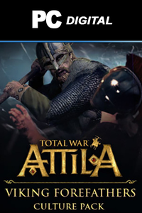 Total War: ATTILA - Viking Forefathers Culture Pack DLC PC