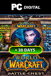 WoW Battlechest 30 days free + 60 Days Timecard