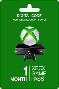 Xbox Game Pass 1 maand (New Accounts)