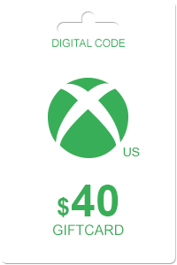 Xbox Gift Card 40 USD