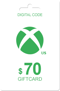 Xbox Gift Card 70 USD