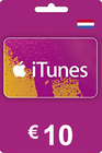 iTunes Gift Card 10 EUR NL