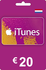 iTunes Gift Card 20 EUR NL