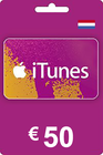 iTunes Gift Card 50 EUR NL