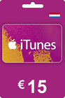 iTunes Gift Card 15 EUR NL