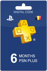 PlayStation Plus 180 dagen BE