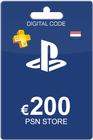 Playstation Network Card 200 euro NL