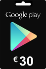 Google Play Gift Card 30 EURO