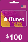 iTunes Gift Card 100 USD USA