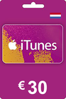 iTunes Gift Card 30 EUR NL