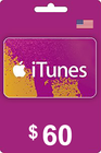 iTunes Gift Card 60 USD USA