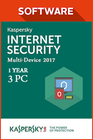 Kaspersky Internet Security Multi Device 2017 1 jaar 3 PC