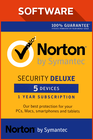 Norton Security Deluxe 5 devices 2017 1 Year