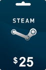 Steam Gift card 25 USD