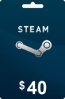 Steam Gift Card 40 USD