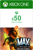 Xbox Giftcard 50 Euro + Max the Curse of Brotherhood Xbox One